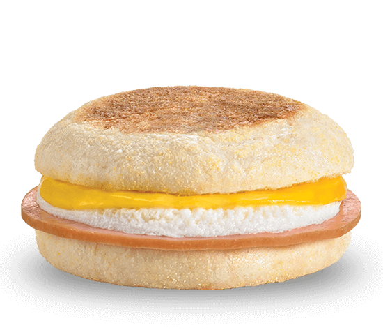 Ham, Egg & Cheese English Muffin
