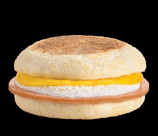 Ham, Egg & Cheese English Muffin