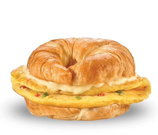 Frittata with Hollandaise Croissant