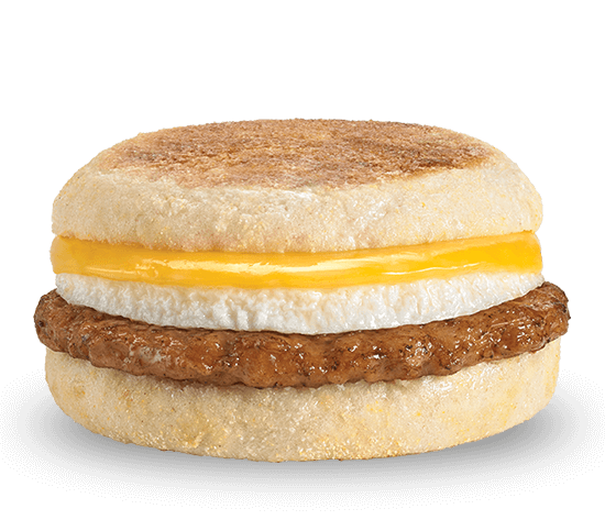 Sausage, Egg & Cheese English Muffin