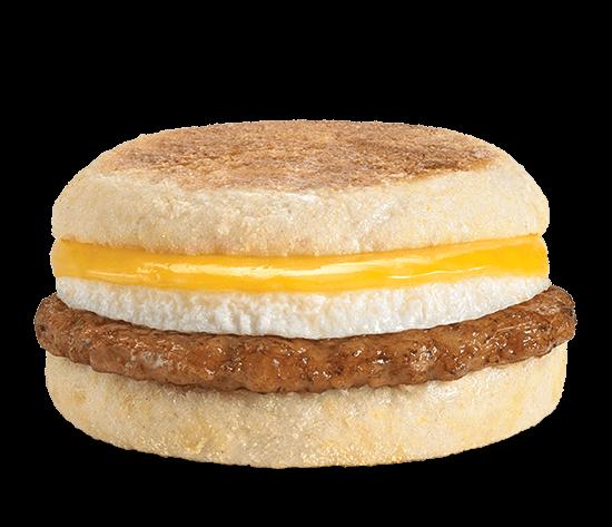 Sausage, Egg & Cheese English Muffin