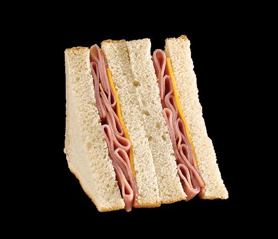 Mega Smoked Ham & Cheese