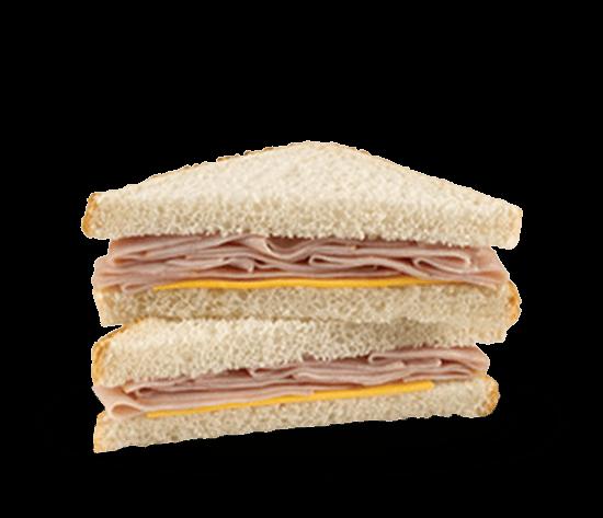 Smoked Ham and Cheese Wedge Sandwich