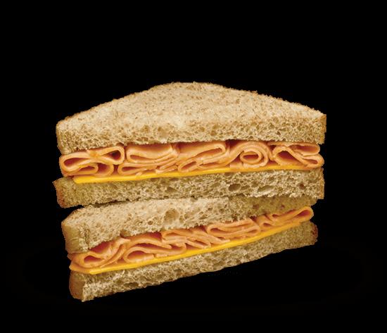 Deli Style Stacker Wedge Sandwich