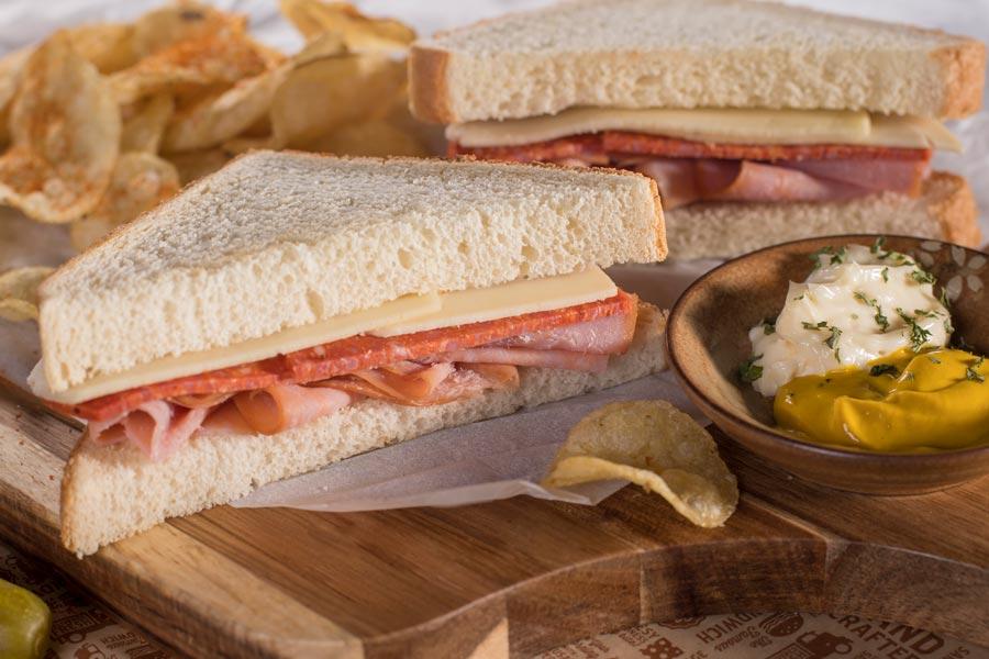 Mega Wedge Sandwiches