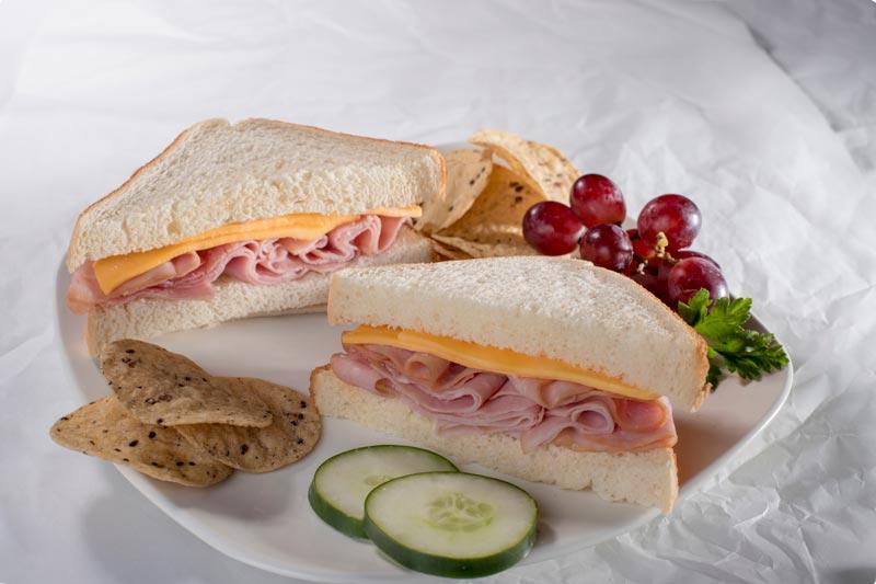 Mega Smoked Ham and Cheese