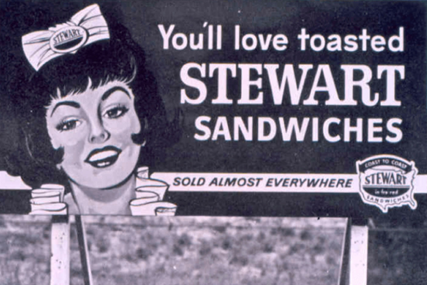 Image of Stewart Sandwiches Billboard