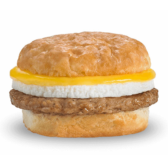 Sausage, Egg & Cheese Biscuit