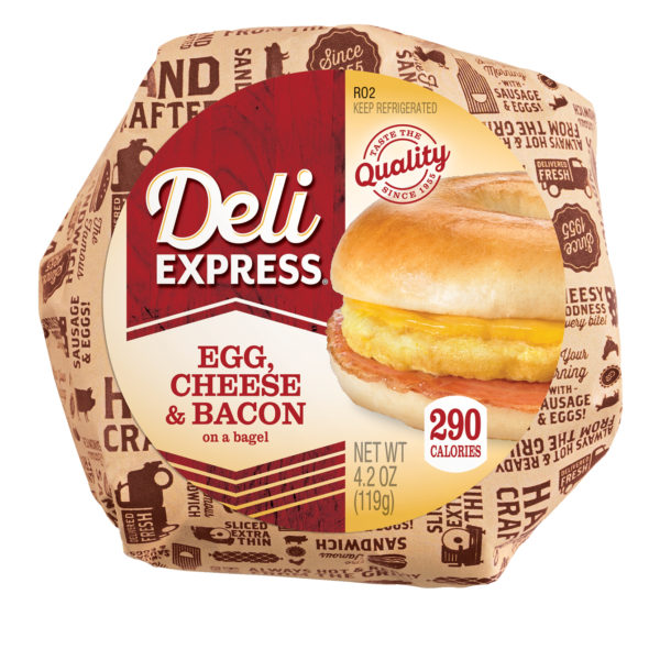Bacon, Egg & Cheese Bagel