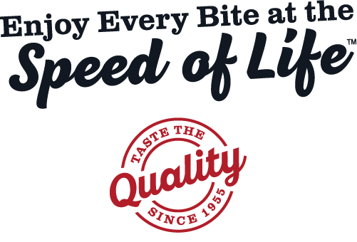 Deli Express® ®  Speed of Life and Taste the Quality Seal of Approval
